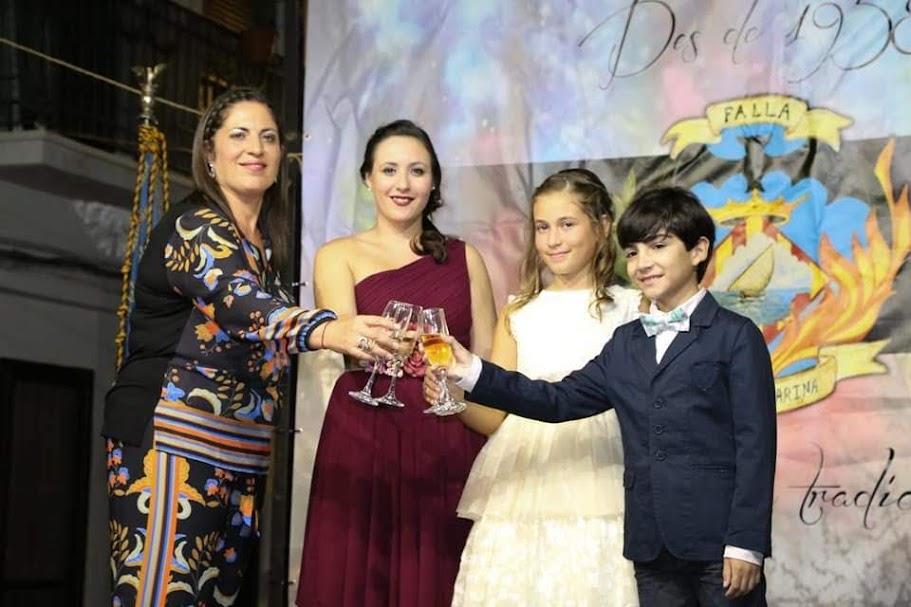 Progreso, va proclamar a les falleres majors i president infanti 2019