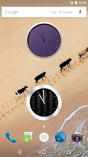 Nougat Clock for Android- screenshot thumbnail