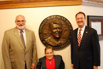 Photo: Dave Arnold, Michelle Sullivan and John Morris, June 5, 2012.