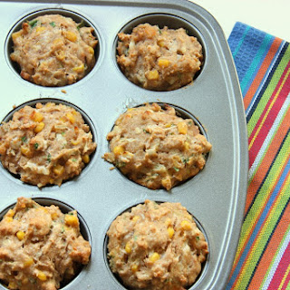 Bacon and Corn Breakfast Muffins