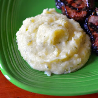 Pressure Cooker Champ (Irish Mashed Potatoes with Green Onions)
