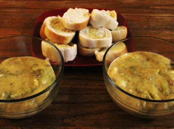 Beefy Broccoli  Cheese Soup Recipe