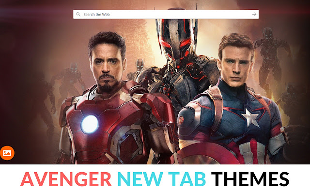 Avenger Themes-Customize Your Start Page