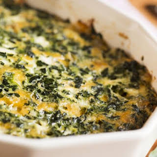 Easy Spinach Casserole.
