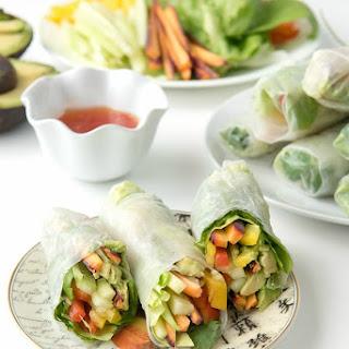 How to Make Vietnamese Vegetable Spring Rolls.