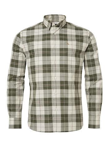 Chevalier Hinwick Shirt Men Deep Green Checked