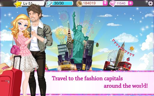 Star Girl - Fashion, Makeup & Dress Up screenshot 9