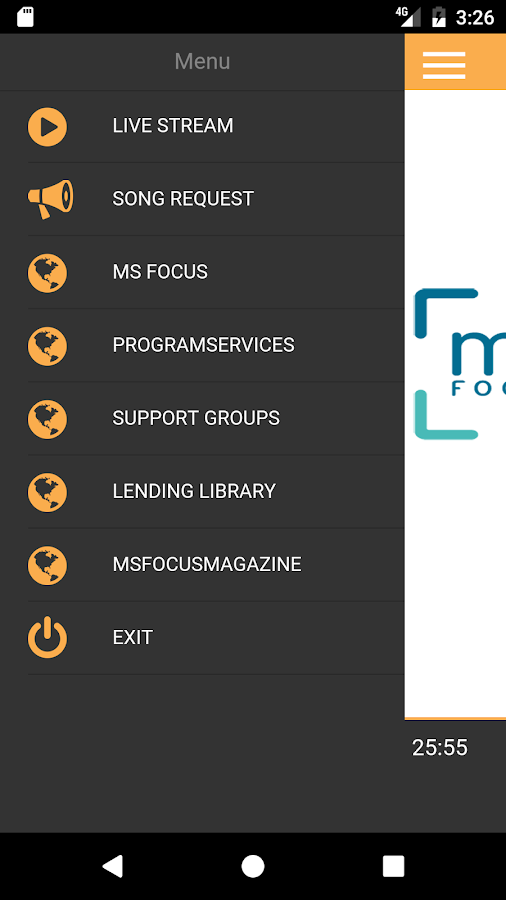 MSFocus Radio- screenshot