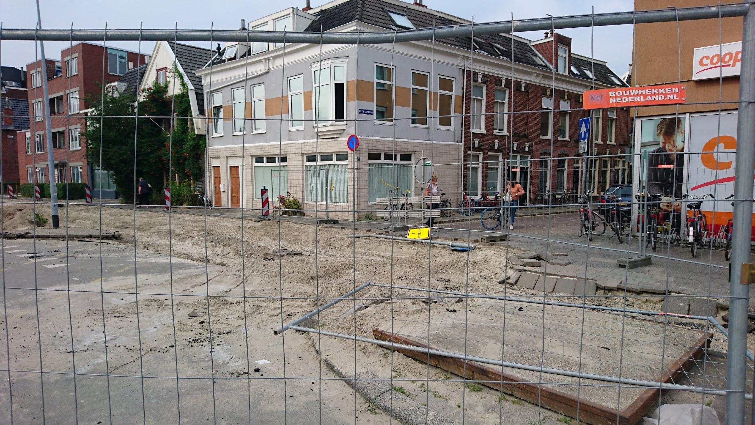 Kleine Badstraat afgesloten (23-7-19)