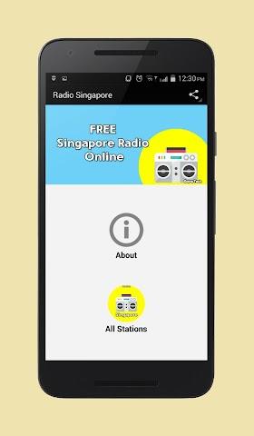 android Radio Singapore Screenshot 0
