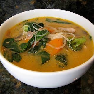 Thai Curry Soup.