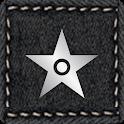 Black Denim for Smart Launcher icon