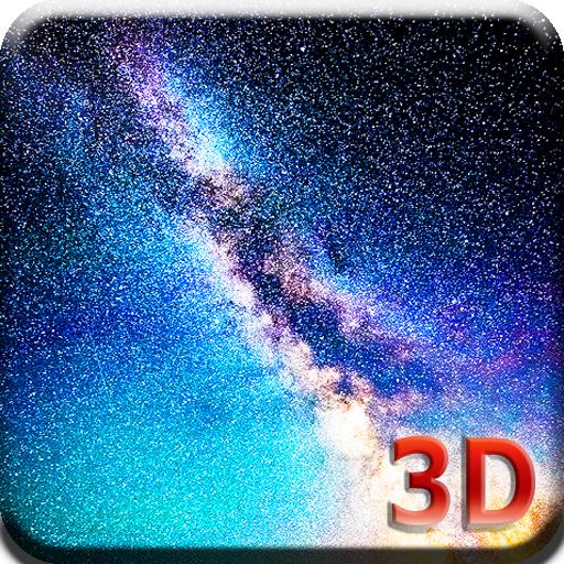 3D銀河星空動態桌布 個人化 App LOGO-硬是要APP