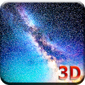 Galaxy 3D Live Wallpaper icon
