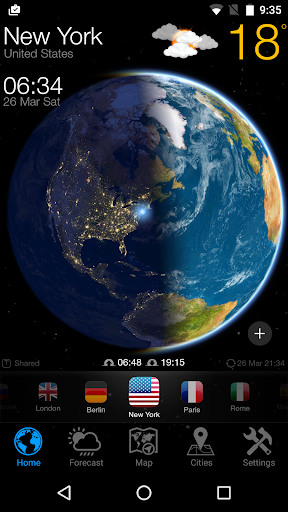 WEATHER NOW Forecast and Earth