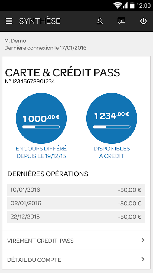 Carrefour Banque- screenshot
