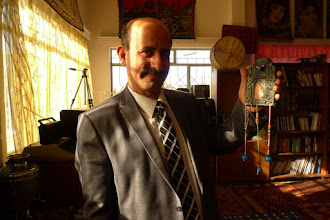 Photo: director of the Turkmen Cultural centre, Hawler 2015
