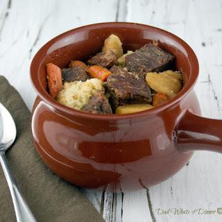 Hearty Beef Stew in the Crock Pot Recipe
