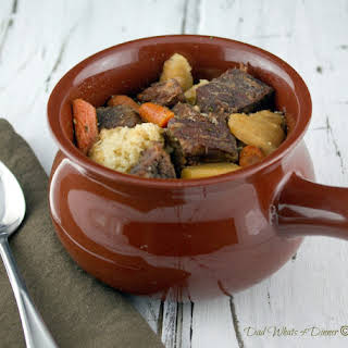 Hearty Beef Stew in the Crock Pot.