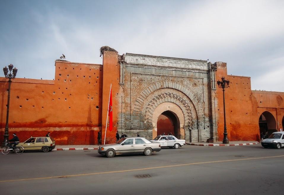 Bab Agnaou, Марракеш