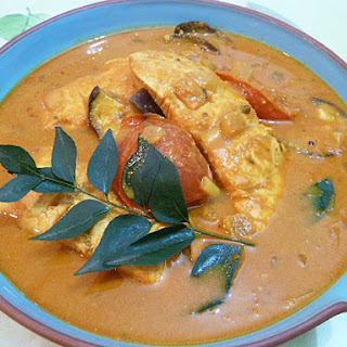 Smoked Salmon Fish Curry.