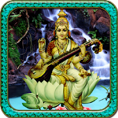 Lord Saraswati Live Wallpaper