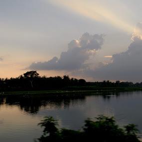 by Manjunath Nagesha Rao - Landscapes Cloud Formations