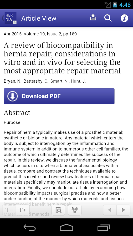 Hernia- screenshot