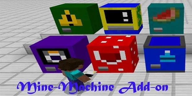 Mine-Machine Add-on for MCPE - náhled