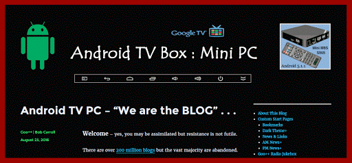 Android TV Mini PC Blog