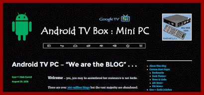 Android TV Mini PC Blog