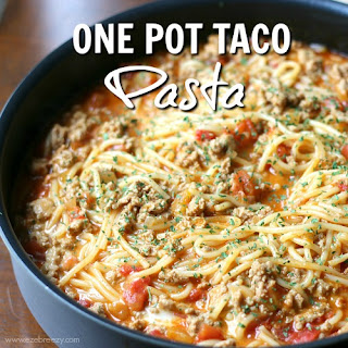 One Pot Taco Pasta Recipe