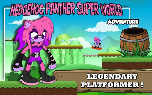 Hedgehog Panther Super World