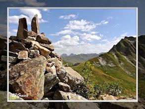 Photo: Col de la Louze et contreforts de la Pointe de Riondet