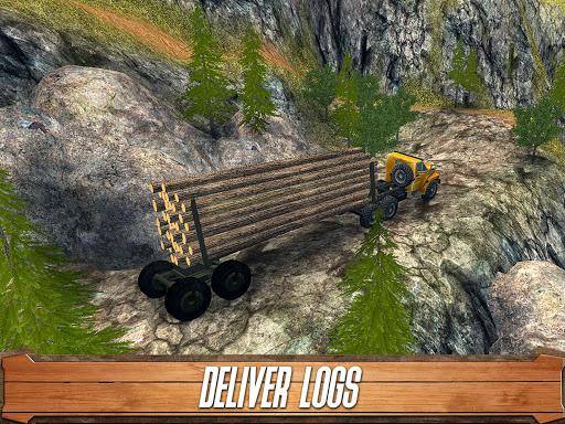 Sawmill Driver: Logging Truck & Forest Harvester  screenshots 7