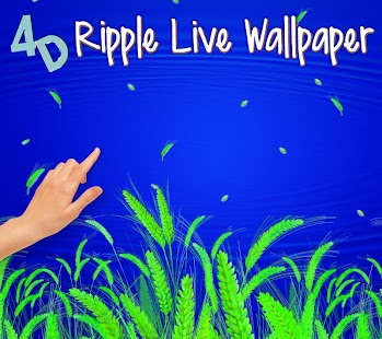 4d ripple live wallpaper android apps on google play