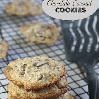 Chocolate Coconut Cookies.