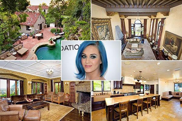 rumah bergaya mediterania, Mengintip Rumah Bergaya Mediterania Milik Katy Perry