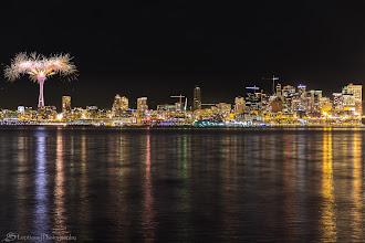 Photo: New Year in Seattle, WA