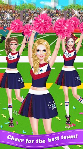 Cheerleader Salon - Super Game