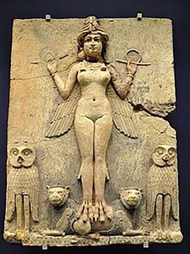 Escultura de la diosa Lilit