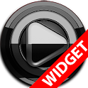 Poweramp widget BLACK Black icon