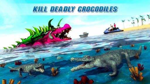 Real Robot Crocodile Simulator- Robot transform 1.0.12 Screenshots 14