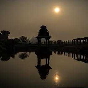 Hampi India by Dharmesh Daula - Buildings & Architecture Public & Historical