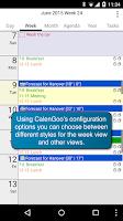 Screenshot of CalenGoo - Calendar and Tasks