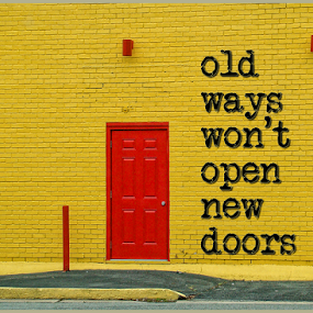 new doors by Lennie L. - Typography Words