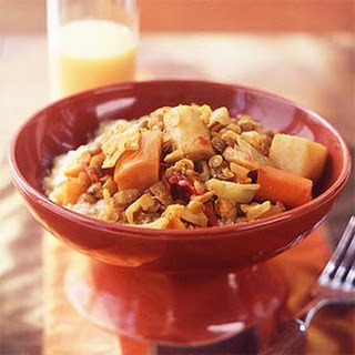 Root Vegetable Tagine with Lentils
