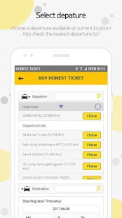 HonestTicket - the only prepaid ticket taxi in KOR- screenshot thumbnail
