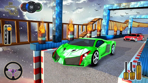 Impossible Stunt Space Car Racing 2019 1.14 screenshots 7