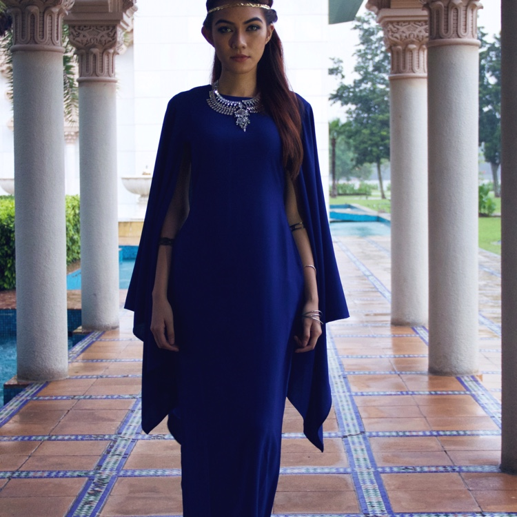 Hera Dress (blue)